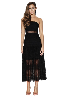 Grace & Hart - Show Me Up Flare Midi - Front