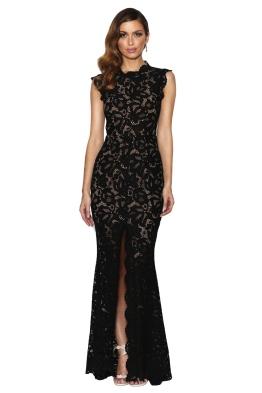 Grace & Hart - Valentine Gown - Black - Front