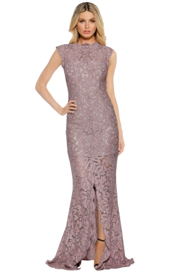 Grace & Hart - Valentine Gown - Mushroom - Front