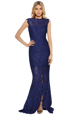 Grace & Hart - Valentine Gown - Navy - Front