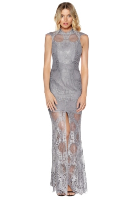 Grace & Hart - Queen Bee Gown - Grey - Front
