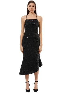 Elliatt - Supreme Dress - Black - Front