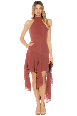 C/MEO Collective - Take A Hold Dress - Desert Rose - Front