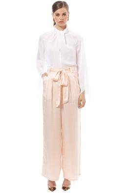 Isabelle Quinn - Cecile Pants - Cream Blush - Front