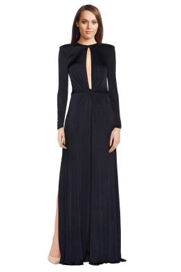 Issa - Merylin Gown - Blue - Front