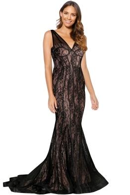 Antonella Gown - Black
