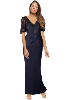 Talia Dress - Navy