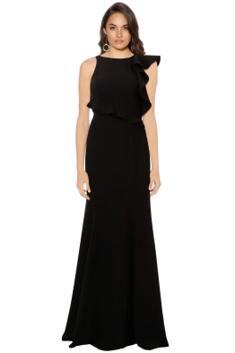 Jay Godfrey - Hall Gown - Black - Front