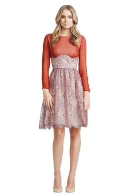 Jayson Brunsdon - Camille Dress - Front - Red