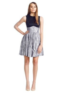 Jayson Brunsdon - Pompadour Dress - Front - Black