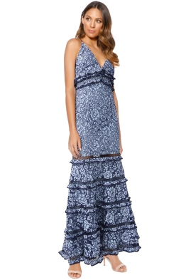Keepsake the Label - Catch Me Lace Gown - Front