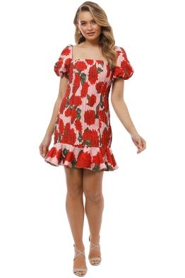 Keepsake the Label - Step Aside Mini Dress - Blush Dahlia - Front