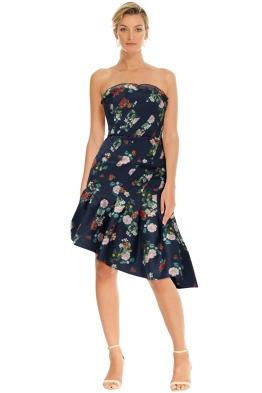 Keepsake the Label - Untouchable Dress - Navy Floral - Front