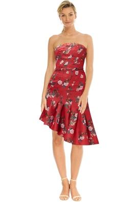 Keepsake the Lable - Untouchable Dress - Magenta Floral - Front