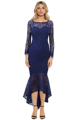L'Amour - Ana Gown - Royal Blue - Front