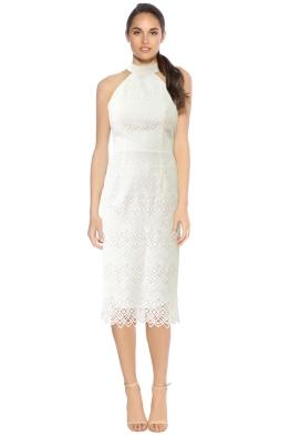 L'amour - Marisol Lace Midi Dress - White - Front.jpg