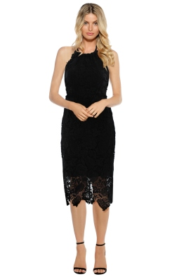 Langhem - Logan Cocktail Dress - Black - Front