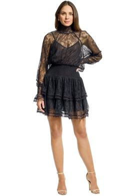 Lover - Frances Dress - Black - Front