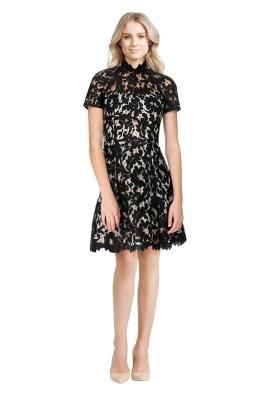 Lover - Mini Warrior Lace Dress - Black
