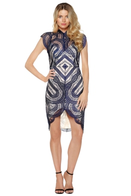 Lover - Venus Fitted Dress - Front