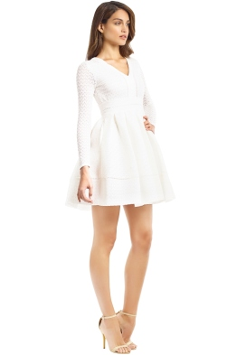 Maje - Rossignol Dress - White - Side