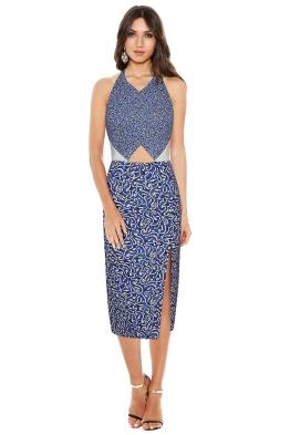 Manning Cartell - Desert Girl Halter Dress - Front
