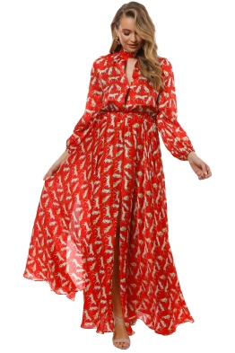 Milly - Emmie Dress - Ruby Red - Front