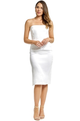 Milly - Eva Dress - White - Front