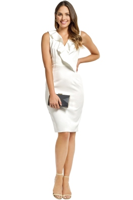 Milly - Luna Dress - White - Front
