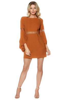 Ministry of Style - Fleeting Dress - Nutmeg - Front