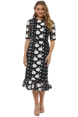Ministry of Style - Wildflower Midi Dress - Front