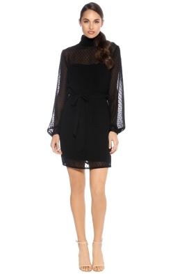 Misha Collection - Nadine Dress - Black - Front