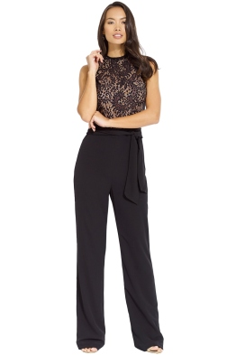 Misha Collection - Josie Pantsuit - Black - Front