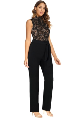 Misha Collection - Josie Pantsuit - Black - Side