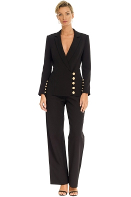 Misha Collection - Molly Jacket - Black - Front