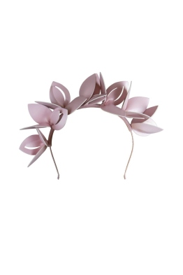 Morgan and Taylor - Lavina Fascinator - Pink - Front