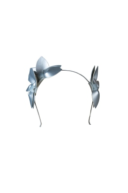 Morgan and Taylor - Sheridan Fascinator - Silver