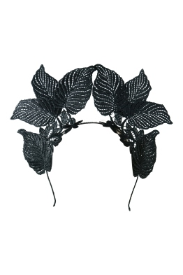 Morgan & Taylor - Florence Fascinator - Black - Front