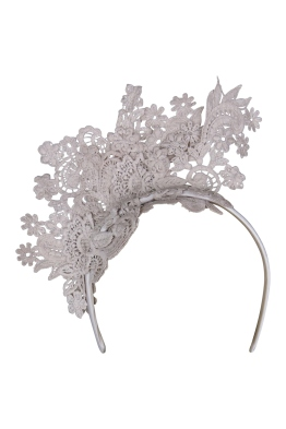 Morgan & Taylor - Leandrea Fascinator - Dusty Pink - Front