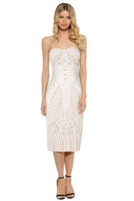 Mossman - The Enchanted Garden Thin Strap Dress - Front