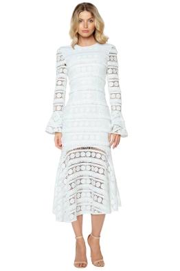 Mossman - Miss Moonlight Long Dress - White - Front