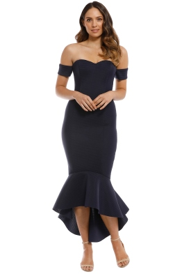 86eccef9c4 Mossman - The Lovers Rock Dress - Navy - Front