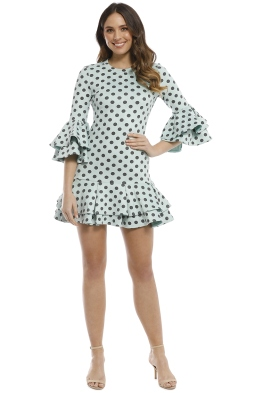 Mossman - The Wild One Dress - Mint - Front