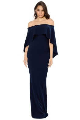 Pasduchas - Composure Gown - Navy - Front