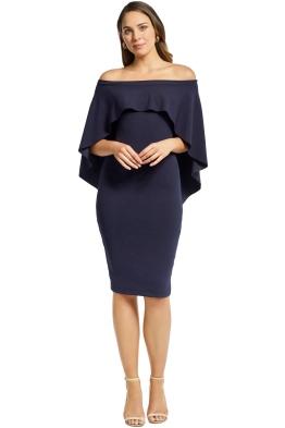 Pasduchas - Composure Midi Dress - Anchor - Front
