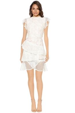 Pasduchas - Santa Fe Dress - Ivory - Front