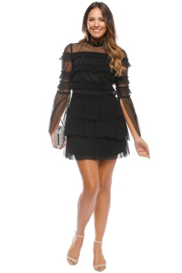 Pasduchas - Syndicate Dress - Black - Front