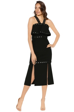 Premonition -  Moonlight Cocktail Dress - Black - Front