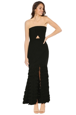 Premonition - Odile Evening Dress - Black - Front