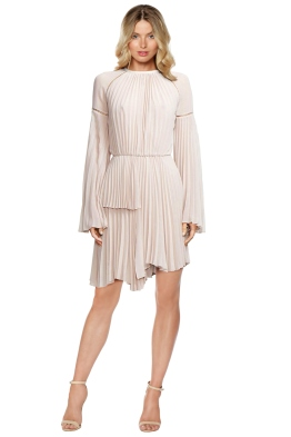 Rachel Gilbert - Nyla Dress - Nude - Front